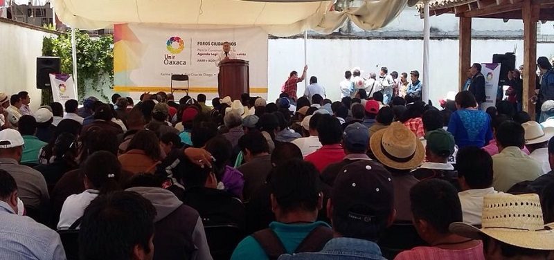 Impulsan ley de aguas en Oaxaca; realizan foros