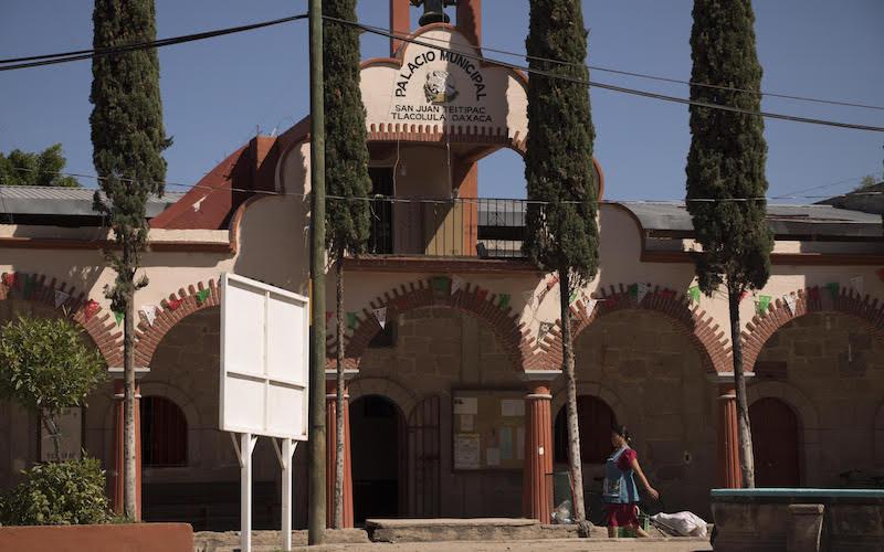 Teitipac, un ejemplo de la ignorancia electoral en Oaxaca. Foto: Ilse Magaly Jiménez Castellanos.