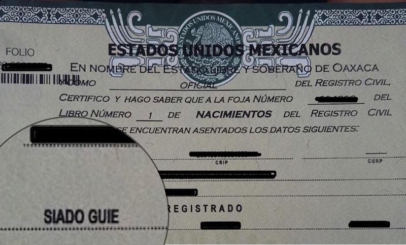 Lujo Certificado De Nacimiento Registro Civil De Nuevo México ...