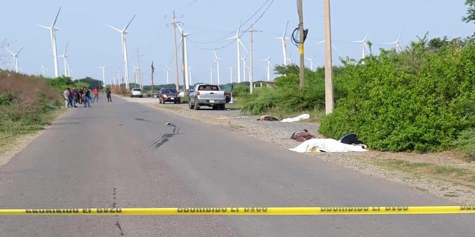 Comando armado ejecuta a 6 personas: 4 mujeres y 2 hombres en el #Istmo