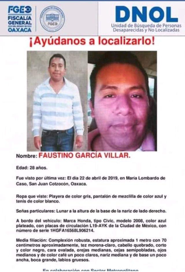 Desaparecidos en María Lombardo, madre denuncia su secuestro pagina 3