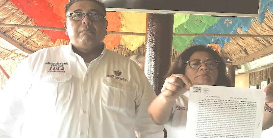 Denuncian irregularidades en la renovación del sindicato petrolero de #SalinaCruz