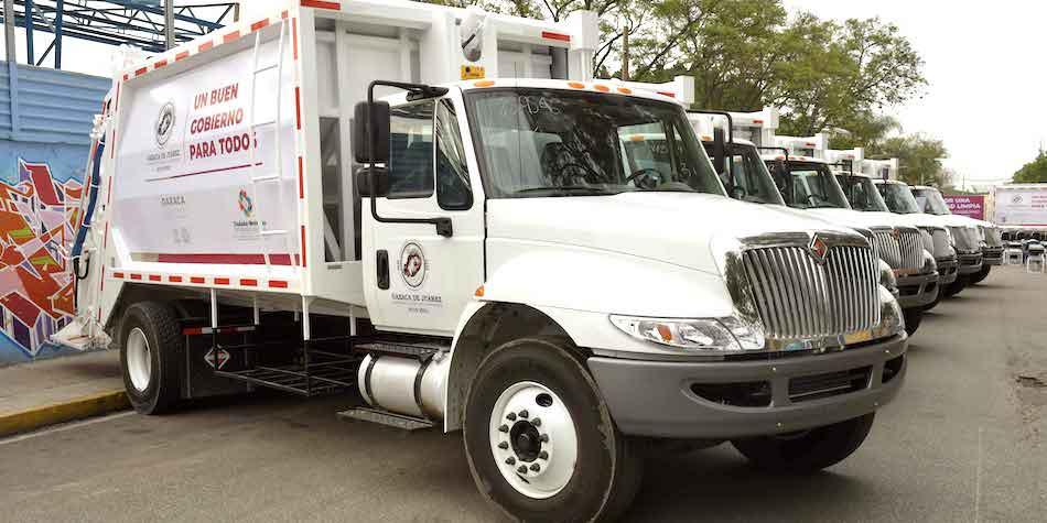Recolección de basura camiones nuevos