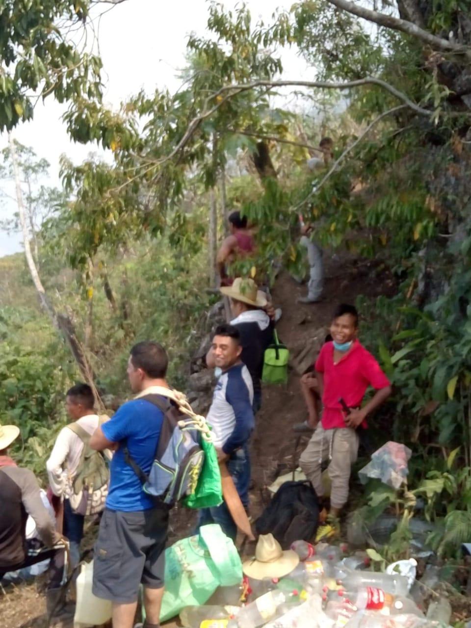 Brigadas de auxilio por incendio Ayautla