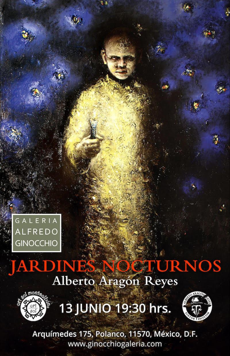 """El artista oaxaqueño Alberto Aragón Reyes inaugurará su exposición """"Jardines Nocturnos"""" en la CDMX pagina 3"""
