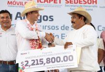 Murat cumple a La Costa con más de 100 MDP en obras y apoyos pagina 3