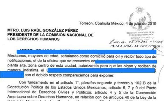 A punta de pistola se obtienen las renuncias en el Seguro de Torreón pagina 3
