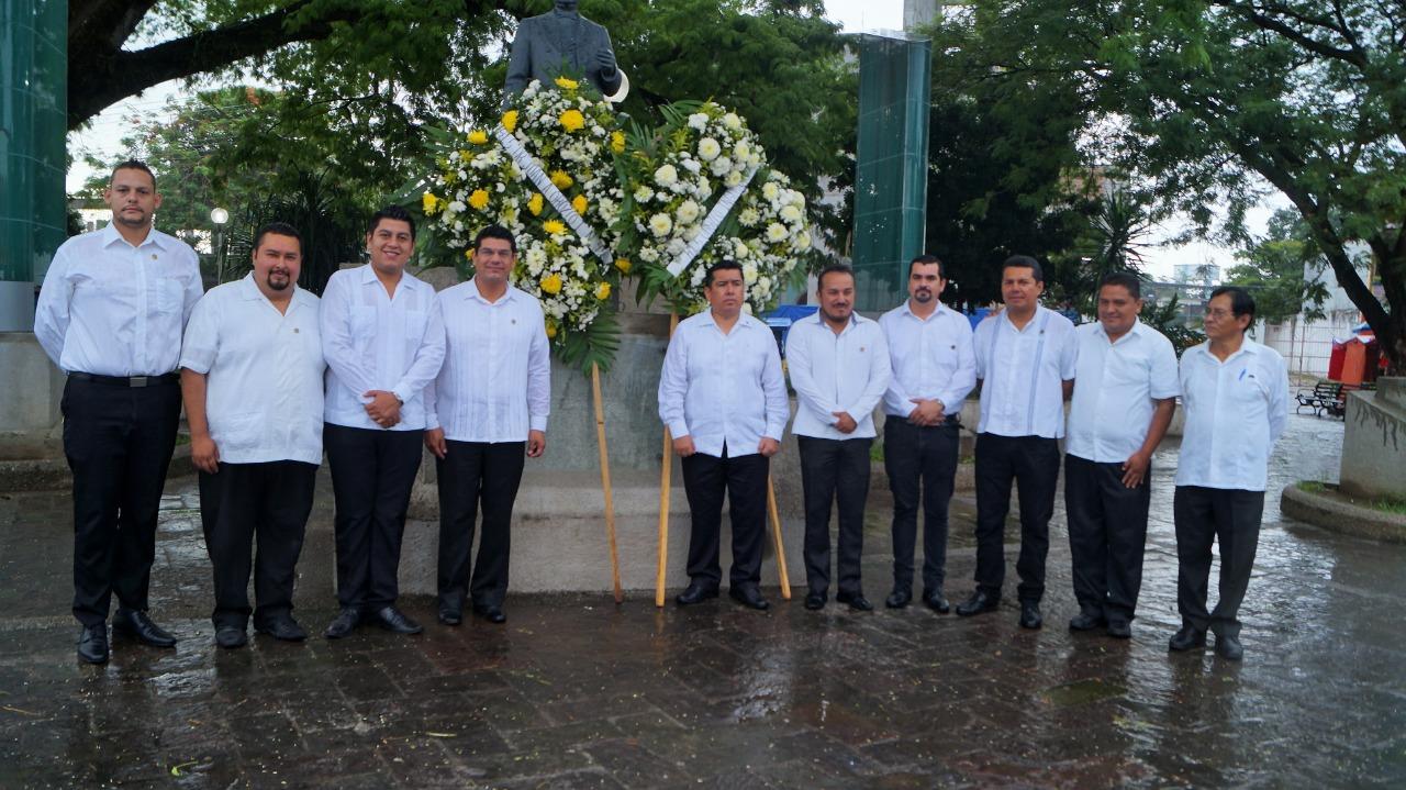 Conmemora Tuxtepec el 147 Aniversario Luctuoso de Juárez pagina 3