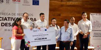 Gobierno de Oaxaca y la Unión Europea entregan 11.5 mdp a 30 iniciativas con vocación productiva pagina 3