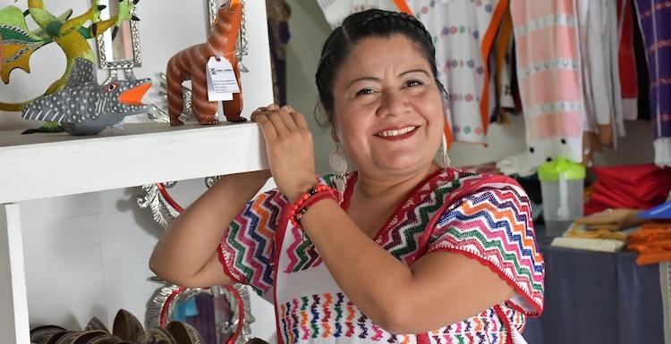 Verónica Lorenzo, artesana