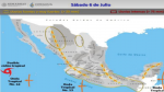 El calor en Oaxaca seguirá, según el pronóstico meteorológico pagina 3