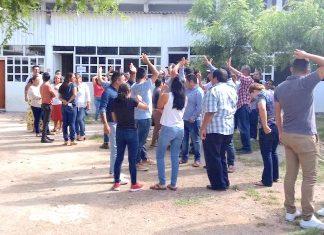 Simulacro de sismo Juchitán