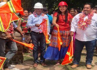 Inicia el Ayuntamiento de Juchitán tres obras