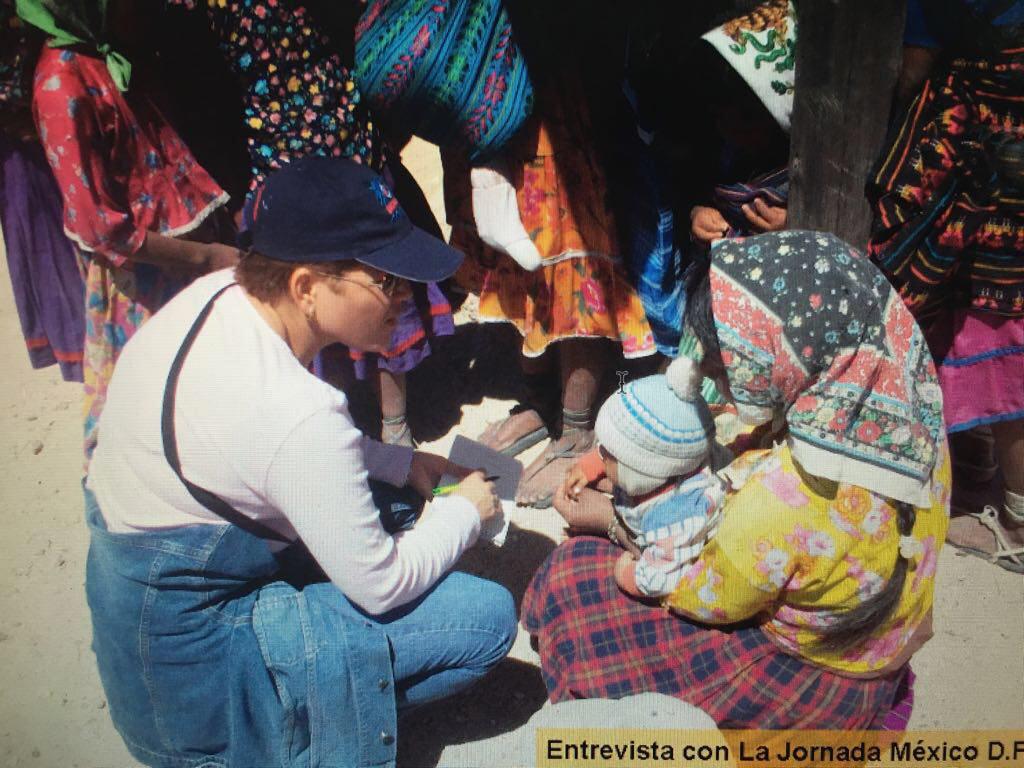 La periodista Breach inició su carrera periodística en Chihuahua pagina 3