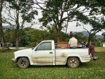 Las patronas camioneta chevrolet robada