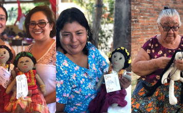Solas y fortalecidas damnificadas del sismo sobreviven haciendo muñecas pagina 3
