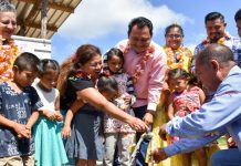 Red de agua potable inaugura Montero