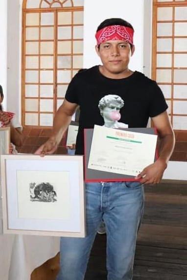 Escritor zapoteca dedica premio CaSa al pintor oaxaqueño Francisco Toledo