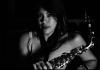 saxofonista María Elena Rios Ortiz