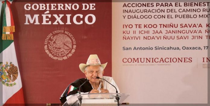 AMLO avión presidencial Oaxaca