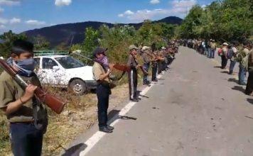 Niños armados Guerrero