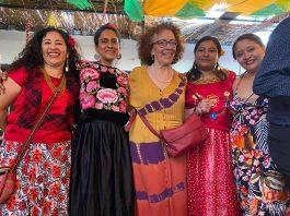 Mujeres istmeñas construyen alianzas en la defensa de la tierra y el territorio