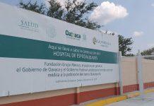 Hospital de Grupo de México aun no concluye en Juchitán y no se puede considerar para emergencia por COVID-19