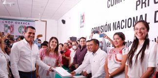 Deciden nueva dirección del PRI Oaxaca: Eduardo Rojas y Amairani Morales