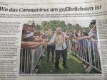 Usan foto de AMLO en Suiza para demostrar lo que no se debe hacer frente al coronavirus