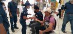 mujer de seguridad pública asiste a tuxtepecanos