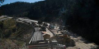Grupo Higa continúa autopista ilegal, bajo protección de Guardia y policía mexiquense