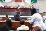Congresistas de Oaxaca,donan un mes de salario para adquirir insumos médicos