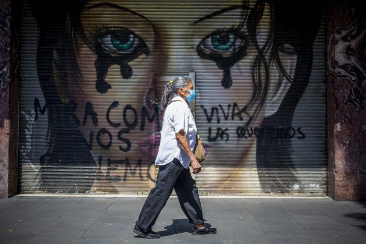 Las cifras de la violencia de género en México eran aterradoras antes de la pandemia. Foto / Brian Torres