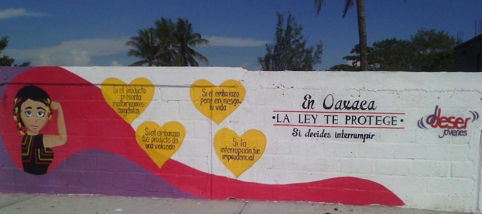 La organización Ddeser Ikoots difunde los derechos sexuales de las mujeres.